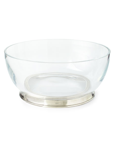 Image 1 of 2: X-LARGE CRYSTAL BOWL