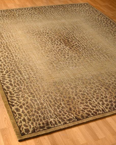 """Leopard Shadow Rug, 9'6"""" x 13'6"""""""