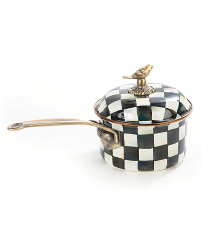 Courtly Check 2.5-Quart Saucepan