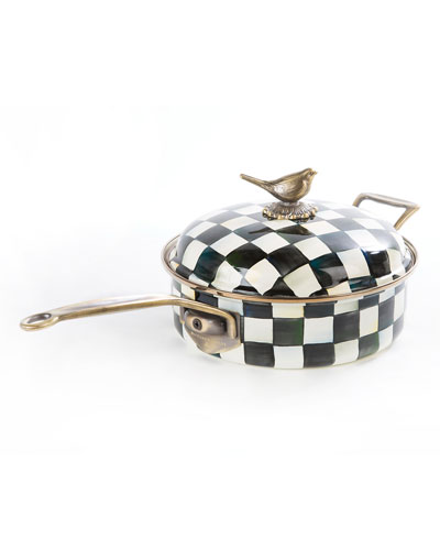 Courtly Check 3-Quart Saute Pan