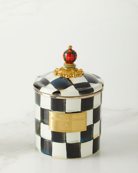 Mac Kenzie Childs Courtly Check Canisters by Mac Kenzie Childs