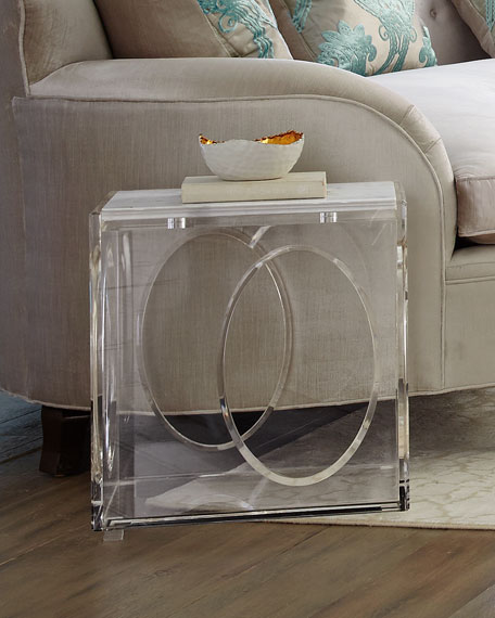 Ambella Milly Acrylic End Table