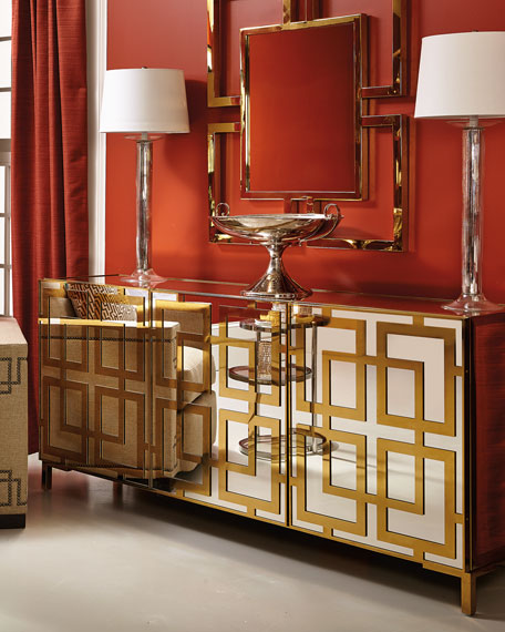 Keating Mirrored Console
