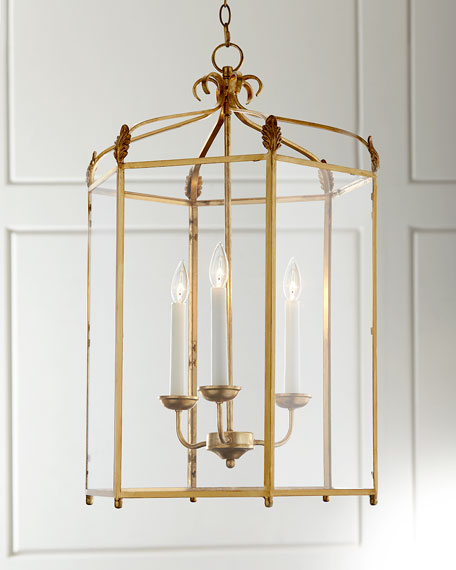 Traditional 3-Light Lantern