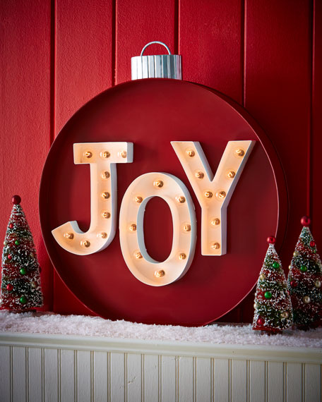 JOY MARQUEE SIGN