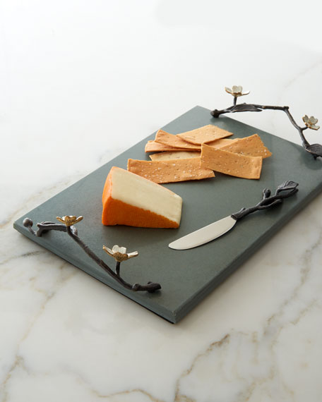 Dogwood Cheese Board with Knife