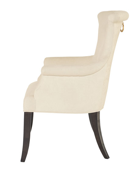 Bernhardt Jet Set Dining Arm Chairs (Pair)