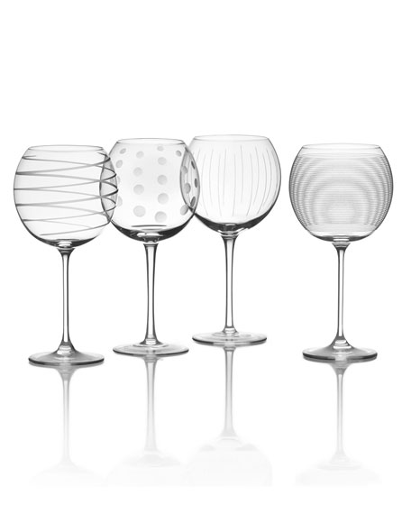 Mikasa Cheers Balloon Goblets, 4-Piece Set