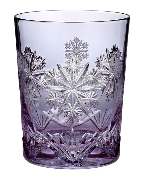 Snowflake Wishes 2016 Wishes for Serenity Lavender Cased Double Old-Fashioned