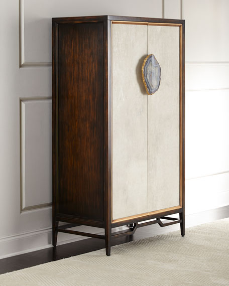 John-Richard Collection Tiza Large Agate Cabinet