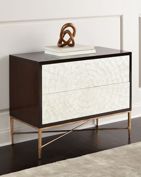 Bernhardt Shay 2-Drawer Bachelor's Chest