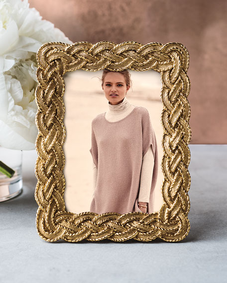 "Braided 3.5"" x 5"" Picture Frame"