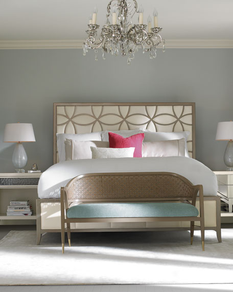 caracole Quinsenberry King Bed