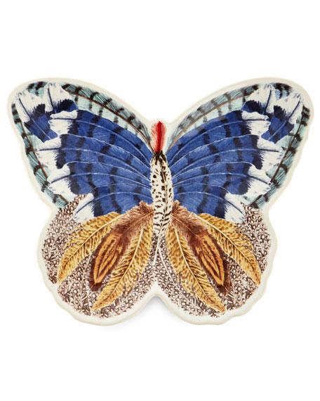 Juliska Forest Walk Butterfly Plate & Platter