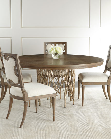 Ambella Holly Springs Dining Table & Linen Clover