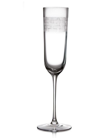 Michael Aram Palm Champagne Flute