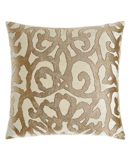 D.V. Kap Home Basileus Gold Pillow