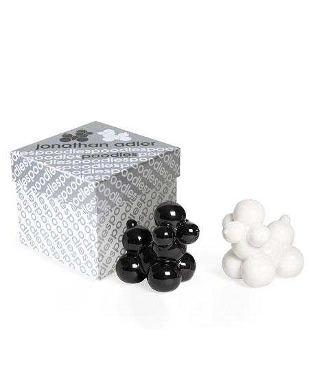 Poodle Salt & Pepper Shakers