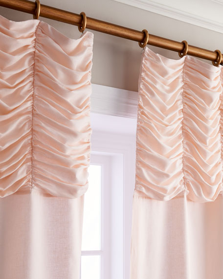 "Each 96""L Claribel Curtain"