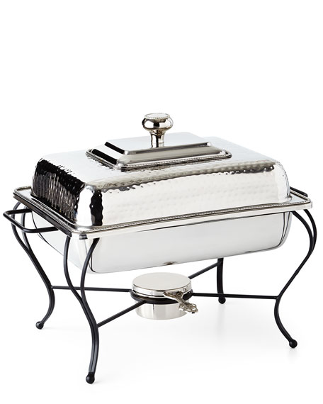 4-Quart Rectangular Chafing Dish