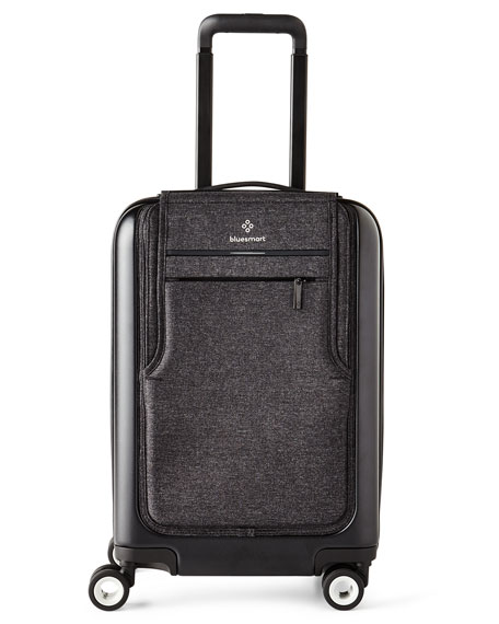 Bluesmart Black Edition Carry On Luggage Neiman Marcus
