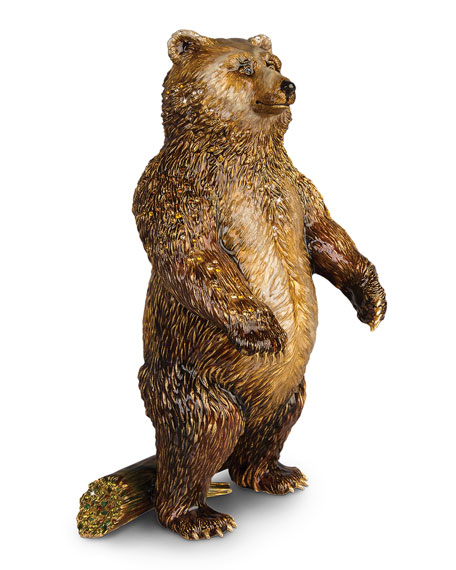 Jay Strongwater Bear Figurine