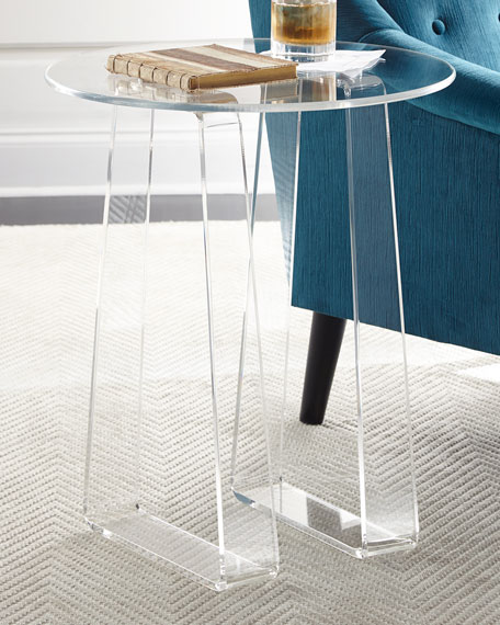 NALA ACRYLIC SIDE TABLE