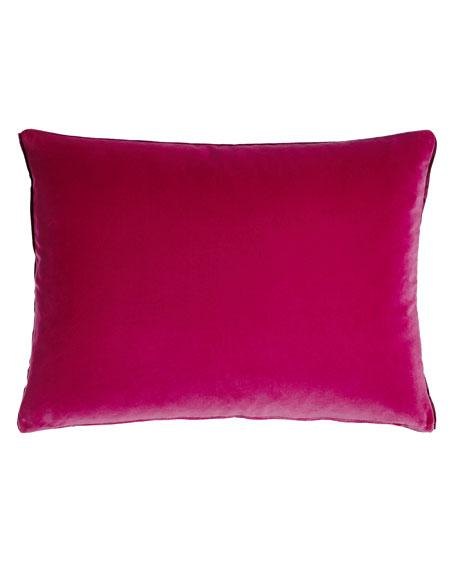 """Cassia Magenta Pillow, 18"""" x 24"""""""