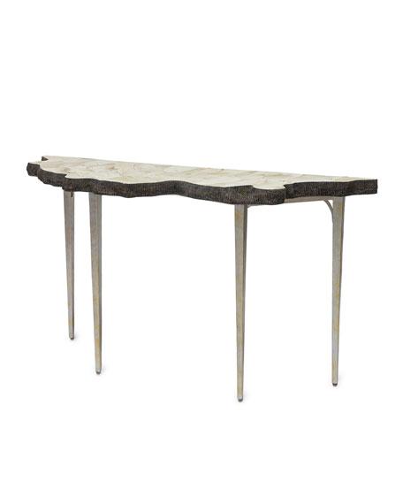 Ursula Fossil Console Table