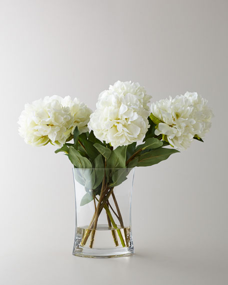John-Richard Collection Heavenly Peonies Faux Floral Arrangement