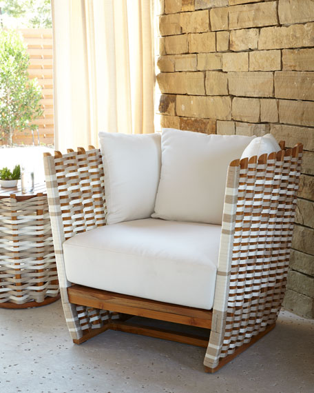 Palecek San Martin Outdoor Lounge Chair