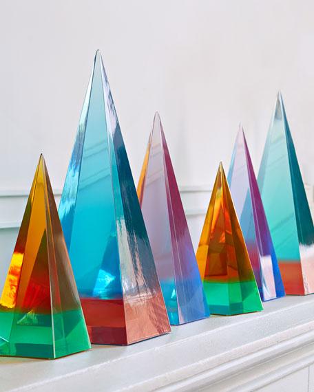 Jonathan Adler Medium Neo Geo Acrylic Obelisk
