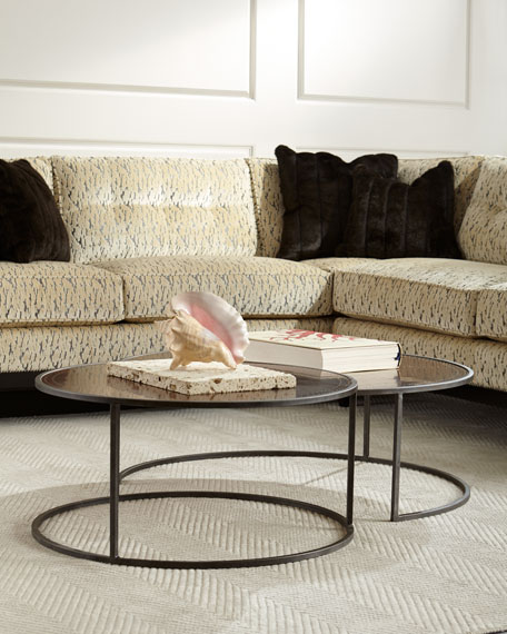 Bruno Copper Nesting Tables