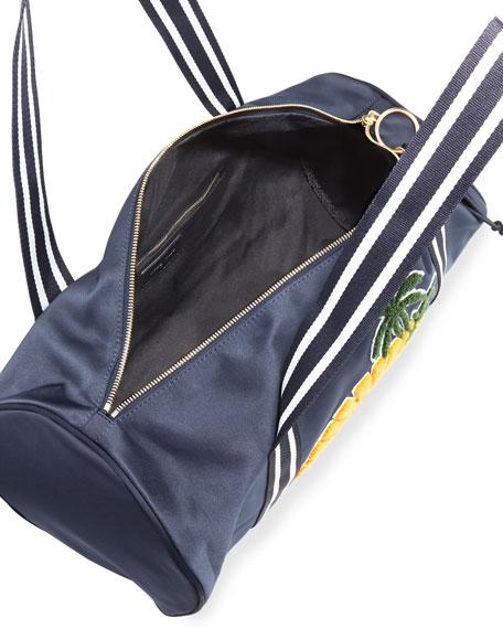Sun Nylon Duffel Bag, Navy/Multi