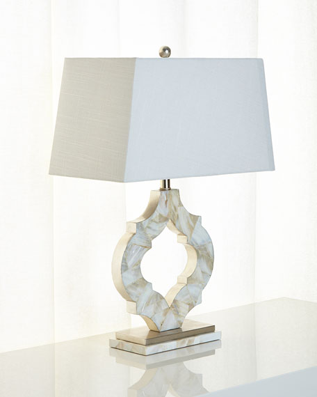 Sarasota Mother-of-Pearl Table Lamp
