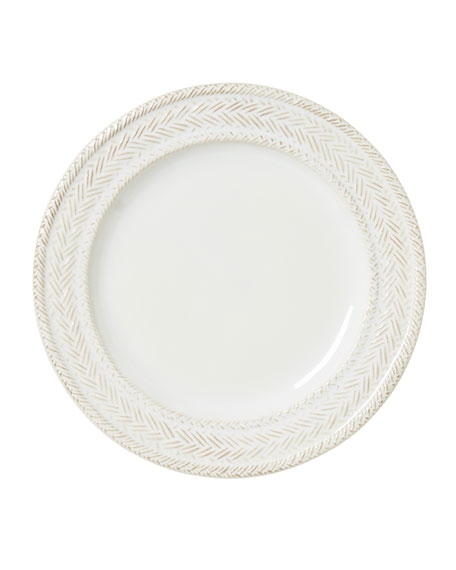 Image 1 of 2: Juliska Le Panier Whitewash Dessert/Salad Plate