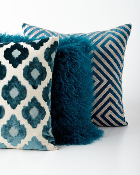 D.V. Kap Home Luke Turquoise Pillow
