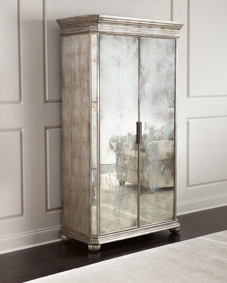John-Richard Collection Lucero Mirrored Cabinet