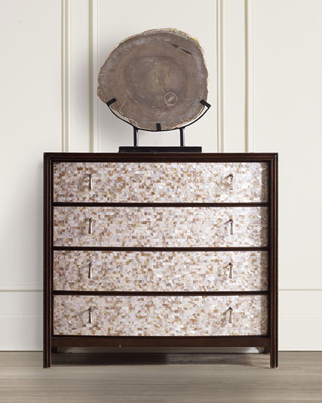 Hooker Furniture Melania Mosaic 4-Drawer Chest