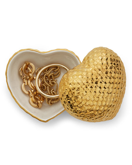 Image 1 of 2: Woven Heart Box
