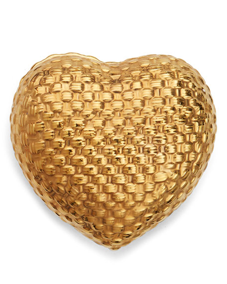 Image 2 of 2: Woven Heart Box