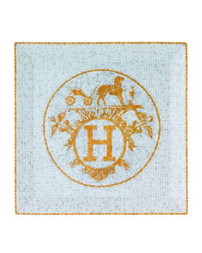 Mosaique au 24 Gold Square Plate #5