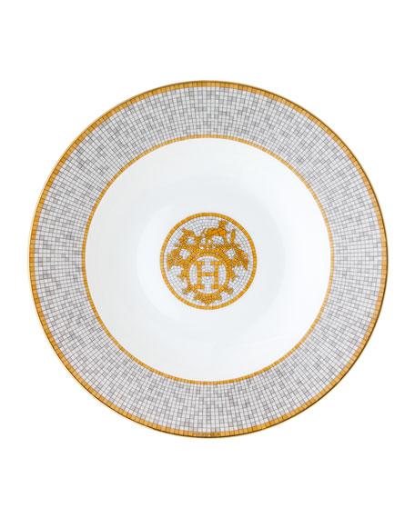 Hermès Mosaique au 24 Platinum Pasta/Soup Plate
