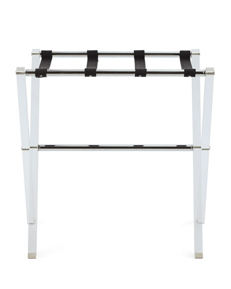Acrylic Luggage Rack