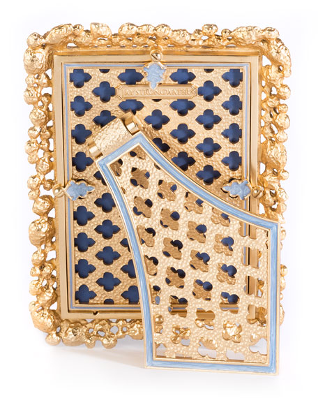 """Jay Strongwater Emery Bejeweled Picture Frame, 4"""" x 6"""""""