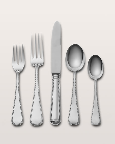 Wallace Silversmiths 5-Piece Palatina Sterling Silver Flatware Place Setting