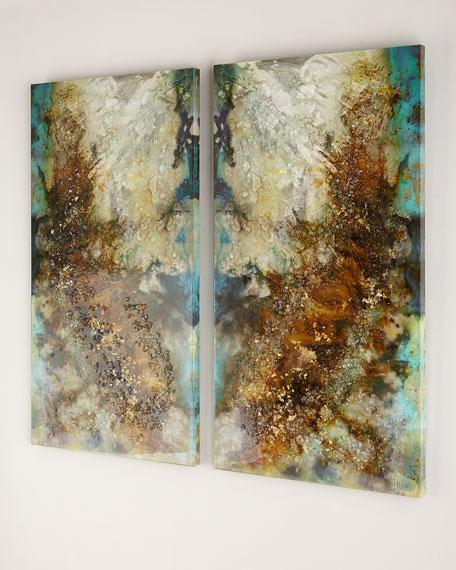 "John-Richard Collection ""Intergalactic I & II"" Giclees, 2-Piece Set"