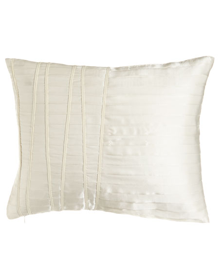 """Reflection Pleated Pillow, 16"""" x 20"""""""