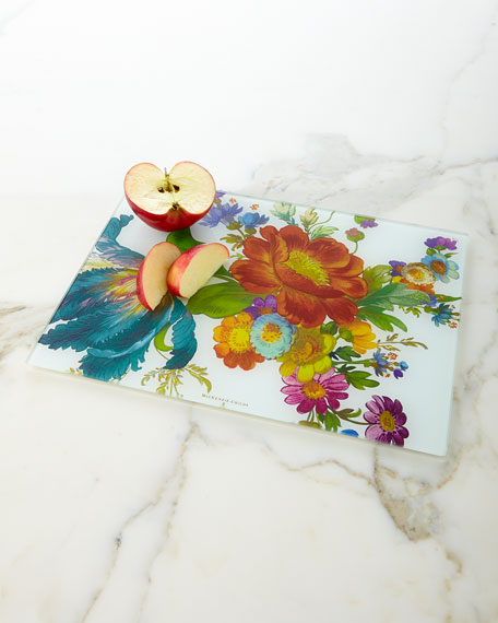 Image 1 of 2: MacKenzie-Childs Flower Market Cutting Board