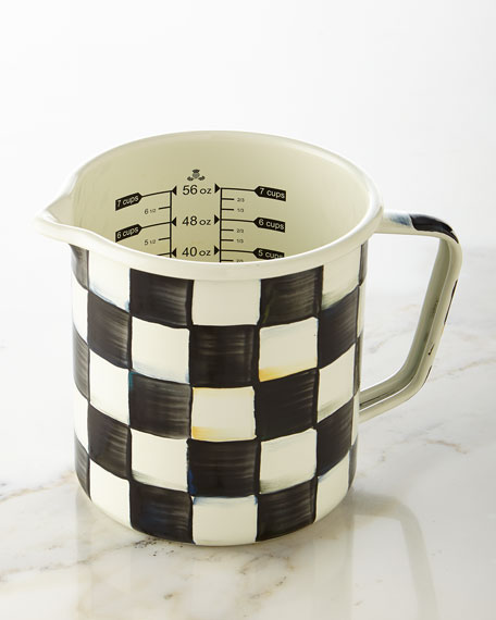 MacKenzie-Childs Courtly Check Measuring Cup